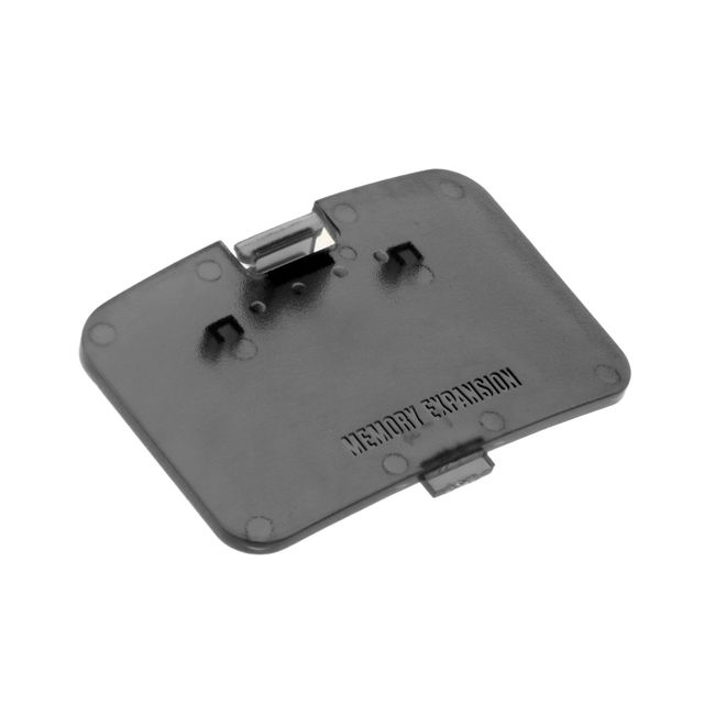 Replacements Jumper Pak Memory Expansion Door Protective Cover Lid Parts for Nintendo N64-Black