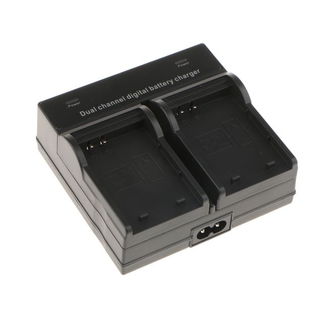 BLN-1 Dual Channel Battery Charger for Olympus OM-D Series EM-5 DSLR Camera