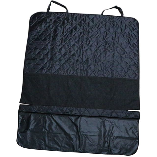 Waterproof Creative Dog Puppy Pet Protective Convenient Boot Mat Liner Back Seat Cover Black M