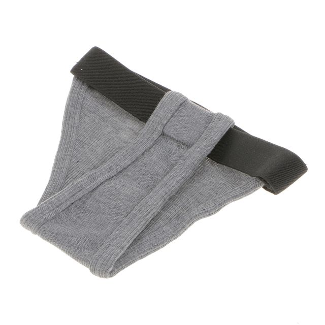 Pet Female Dog Under Clothing Supplies Soft Moisture Breathable Ribbing Classic Physical Pant Sanitary Underwear Grey M