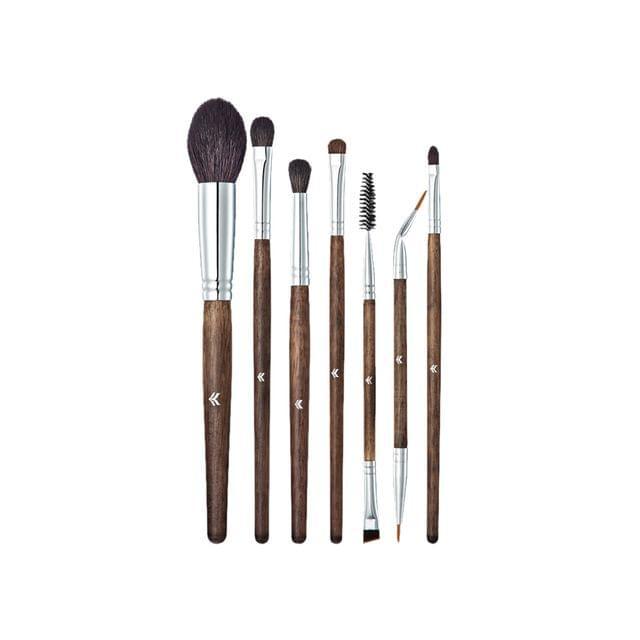 7Pieces Makeup Brushes Set For Face Lip Eyeliner Eyelashes Mascara Foundation Powder Cream Comestic Tool