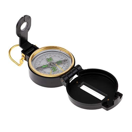 Plastic Pocket Foldable Compass 360 Degrees Automatic Positioning Outdoor Hiking Travel