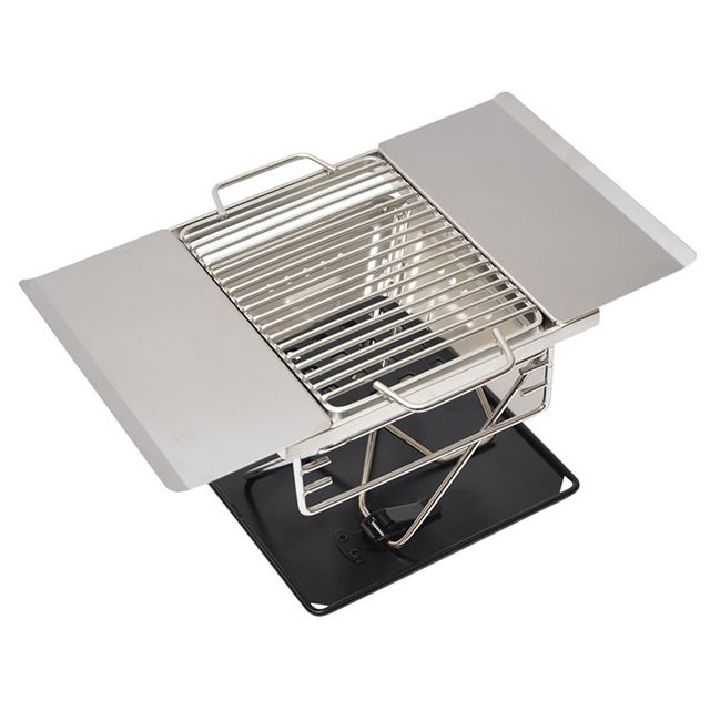 Detachable Stainless Steel Cooking Stove Broil Rack Bracket Roast BBQ Charcoal Grill style B