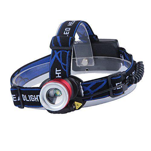 3 Modes LED Head Torch Headlamp Lamp Outdoor Fishing Light Lamp Headlight Flashlight Durable 23 X 14 X 7cm