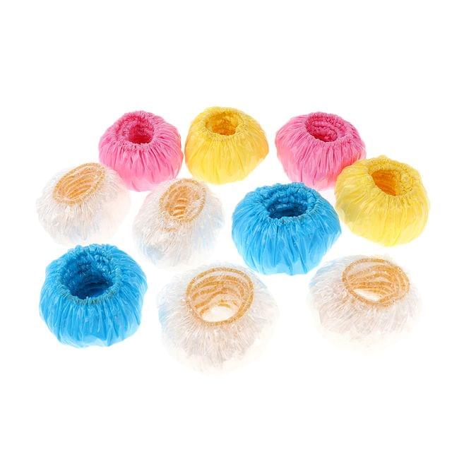 100 pcs Waterproof Bath Earmuffs Ear Protectors Hair Perm Tool Protect the Children's Ear from Water when Showering