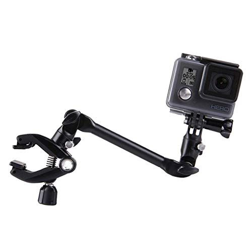 Portable Adjustable Musical Instrument Clip Rotary Mount Holder Stand Clamp Dock for GoPro Hero 6 5 4 3