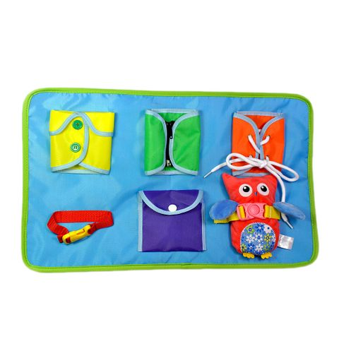 Learn to Dress Boards - Basic Life Skill Kids Early Educational Toy