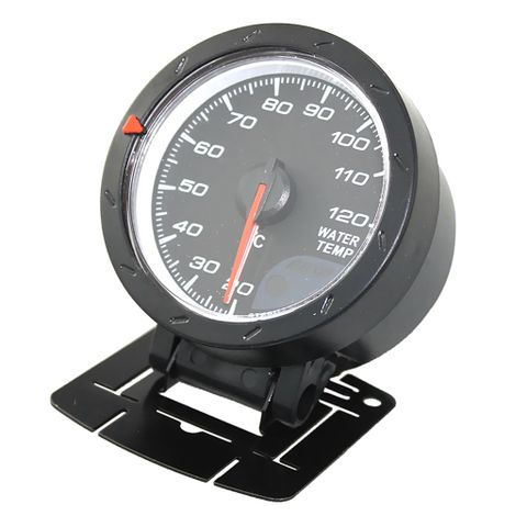 60mm Universal Auto Car Round 20-120℃ Range Red LED Water Temp Temperature Sensor Pointer Gauge Meter