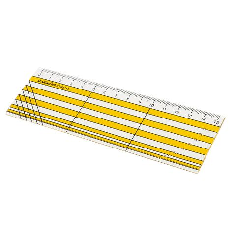 Rectangle Grid Sewing Quilting Ruler Drawing Template DIY Tool for Patchwork Craft 15cm