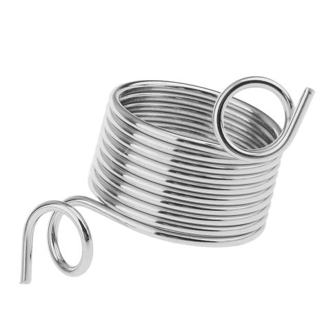 Nickle Plated Wire Yarn Stranding Guide Finger Knitting Thimble for Knitting Crafts Silver 15mm