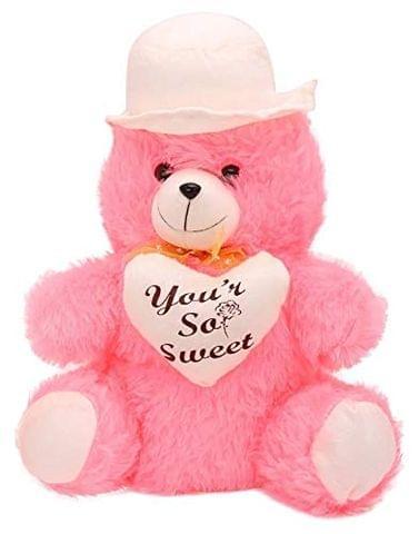 Pink Soft Plush/Cuddle/Soft Toy Teddy Bear 30 cm
