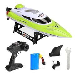 HongXunJie HJ806 2.4Ghz Water Cooling High Speed Racing Boats with Remote Controller, Auto Flip Function, 200m Control Distance (Green)