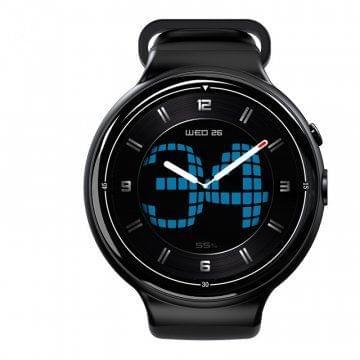 I4 Air Smart Watch Phone - Black