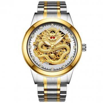 Men Mechanical Watches - Silver Silver