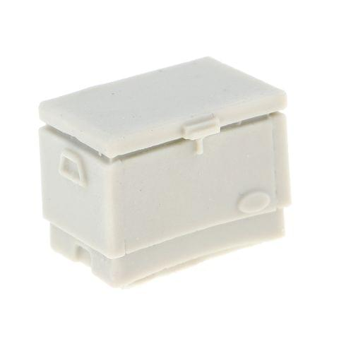 Eassycart Model Accessory, 1:35 Resin Army Box & 6 Oil Tank War Game Layout Unpainted
