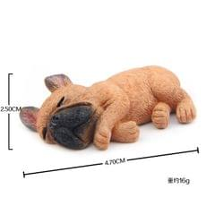Home Decoration Lovely Rrunk on Sleep French Bulldog 3D Fridge Paste, NO Magnetic