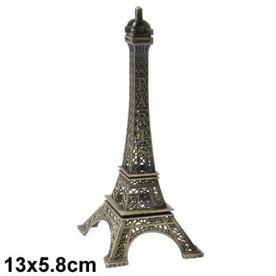 Paris Eiffel Tower Furnishing Articles Model Photography Props Creative Household Gift (Size:13 x 5.8cm )
