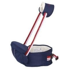 Ergonomic Baby Carrier with Hip Seat for Baby with Reflective Strip for 0-3 Years Old(Dark Blue)