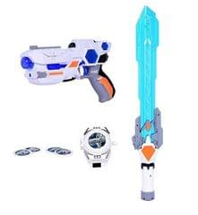 Planet of Toys 3 in 1 Weapon Set