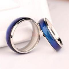 Fine Jewelry Mood Ring Color Change Emotion Feeling Mood Ring Changeable Band Temperature Ring, Ring Size:17mm