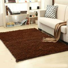 Shaggy Carpet for Living Room Home Warm Plush Floor Rugs fluffy Mats Kids Room Faux Fur Area Rug, Size:80x160cm(Coffee)