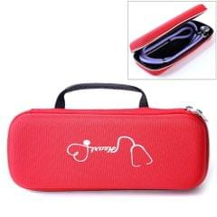 Multi-function Portable Household Stethoscope EVA Shockproof Bag Storage Bag Box Handbag (Red)