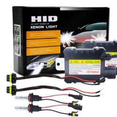 55W H8/H9/H11 6000K HID Xenon Bulbs Light Conversion Kit with High Intensity Discharge Alloy Ballast, White