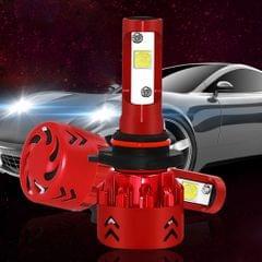 2 PCS Auto Car HB3/9005/H10 25W 2500LM 6000K Pure White CREE-XHP50 LED Headlight Bulbs Conversion Kit, DC 9-36V