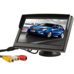 5 inch TFT LCD Color Monitor Stand Security TFT Monitor(Black)