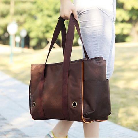Portable Pet Handbag Shoulder Bag for Cat / Dog and oher Pets Large , Size:49*20*35cm