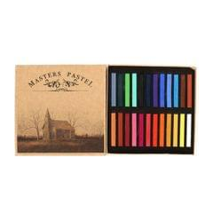 12 / 24 / 36 / 48 Colors Solid Powder Smooth Brush Portable Stick Toner Painting Chalk Set 24 Colors