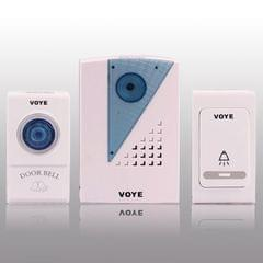 Wireless Doorbell with 2 Remote Control