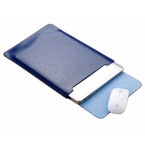 Laptop Microfiber Leather Inner Bag for MacBook Air 11.6 inch (Blue)
