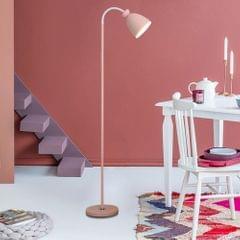 YWXLight Eye Protection Vertical Macaron Floor Lamp (Pink)