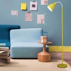 YWXLight Eye Protection Vertical Macaron Floor Lamp (Yellow)