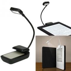0.5W Portable Flexible Mini Clip Reading Lamp(Black)