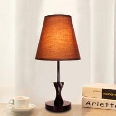 YWXLight Dimming Decorative Modern Minimalist Table Lamp Bedroom Bedside Night Light (Brown)