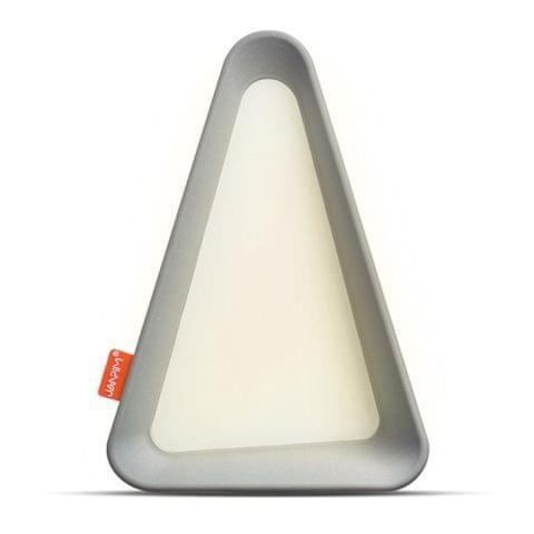 USB Charging Flip Lamp G-sensor LED Light (Grey)