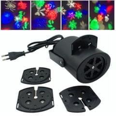 YWXLight RGB AC85-265V IP65 Waterproof Snowflake Projector EU Plug