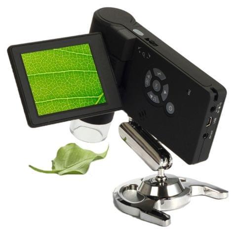 500X 5 Mega Pixels 3 inch LCD Handhold Digital Microscope with 8 LEDs (DMS-039M)