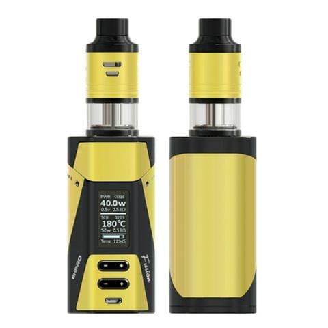 Ehpro 2 in 1 Fusion 150W 2ml Electronic Cigarette Original Vape Cigarette Full Kits Fit Mechanical Mod Vaprizer (Yellow)
