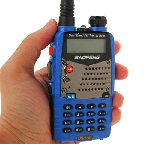 BAOFENG UV-5RA Professional Dual Band Transceiver FM Two Way Radio Walkie Talkie Transmitter(Blue)