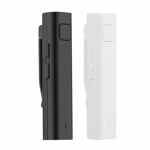 Bluetooth Receiver Smart Headphone Voice Translator 26 Multi-language Travel Business TF Card Voice Text Interpreter Earphone(White)