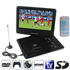9.5 inch TFT LCD Screen Digital Multimedia Portable DVD with Card Reader & USB Port, Support TV (PAL / NTSC / SECAM) & Game Function, 270 Degree Rotation, Support SD / MS / MMC Card(Black)
