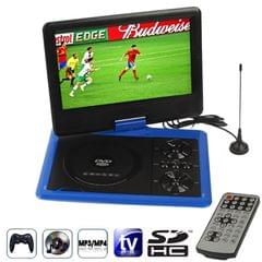 NS-958 9.5 inch TFT LCD Screen Digital Multimedia Portable DVD with Card Reader & USB Port, Support TV (PAL / NTSC / SECAM) & Game Function, 270 Degree Rotation, Support SD / MS / MMC Card (Blue)