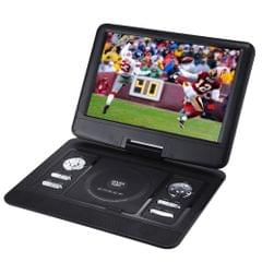 14.5 inch TFT LCD Screen Digital Multimedia Portable DVD with Card Reader & USB Port, Support TV (PAL / NTSC / SECAM) & Game Function, 270 Degree Rotation, Support SD / MS / MMC Card(Black)