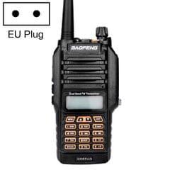 BaoFeng BF-UV9Rplus 8W Waterproof Dual Band Radio Handheld Antenna Walkie Talkie, EU Plug                                               ()