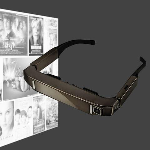 VISION-800 Android 4.4 1GB+2GB Super Smart Retina Glasses 3D VR Virtual Reality Headsets with 5.0MP Camera, Support WiFi, Bluetooth, TF Card, Video Recording                                               ()