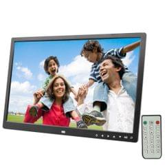17.0 inch LED Display Digital Photo Frame with 7-keys Touch Button Control / Holder / Remote Control, Allwinner Technology, Support USB / SD Card Input / OTG, US/EU/UK Plug(Black)                                               ()