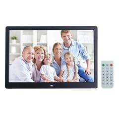 13 inch LED Display Digital Photo Frame with Holder & Remote Control, Allwinner F16, Support SD / MS / MMC Card and USB(Black)